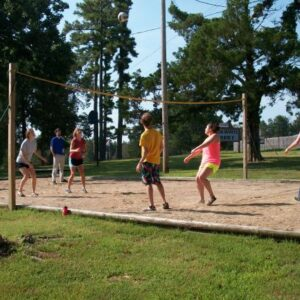 Wagon Wheel volleyball