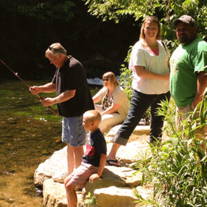 Wagon Wheel Family fishing