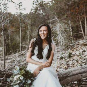 Norfork Lake wedding photo