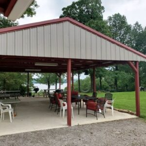 Wagon Wheel Resort pavilion