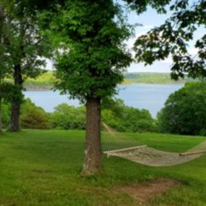 Wagon Wheel Resort Relax on hammock