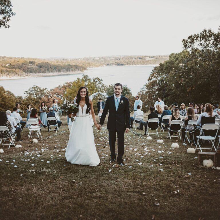 Unforgettable wedding backdrop