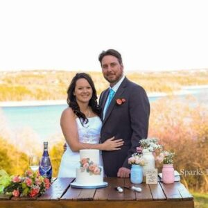 Norfork Lake wedding in Spring